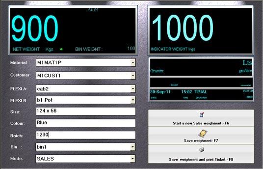 SmartLog Industrial weighment