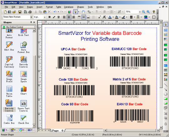SmartVizor Variable Data Batch Publishing Software
