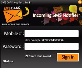 SMSDAAK Notifier