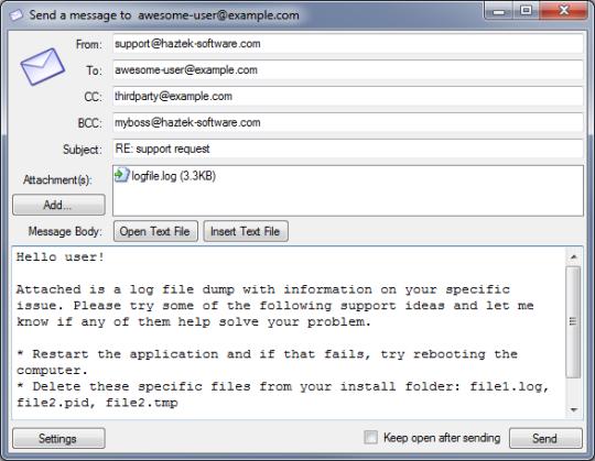 SMTP Mail Sender