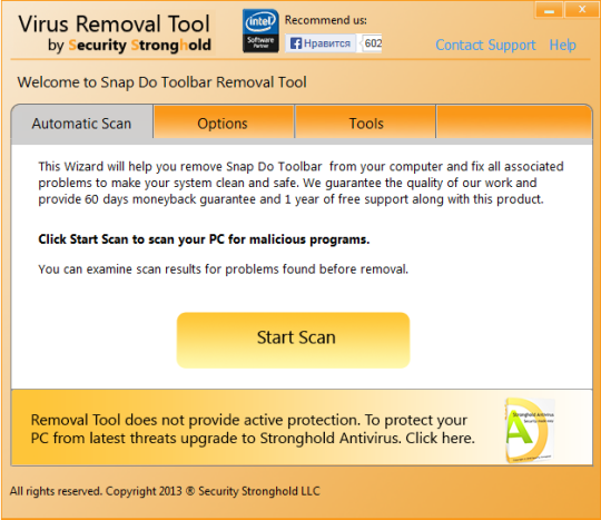 SnapDo Toolbar Removal Tool