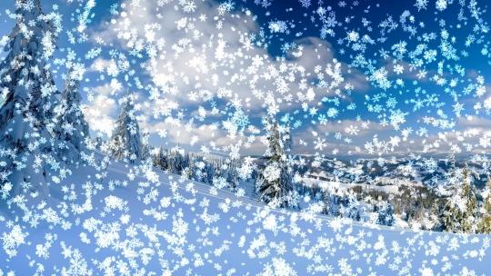 Snowy Desktop 3D Animated Wallpaper & Screensaver