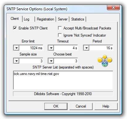 SNTP Service (64-bit)