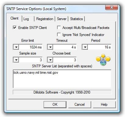 SNTP Service
