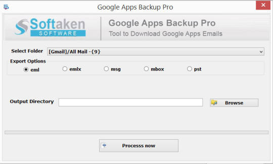 Softaken Google Apps Backup Pro