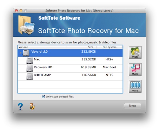 Softtote Photo Recovery