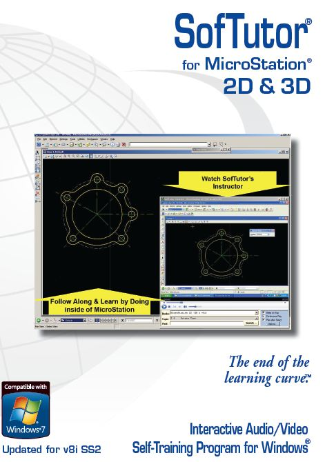 SofTutor for MicroStation XM & v8i 2D 3D Demo