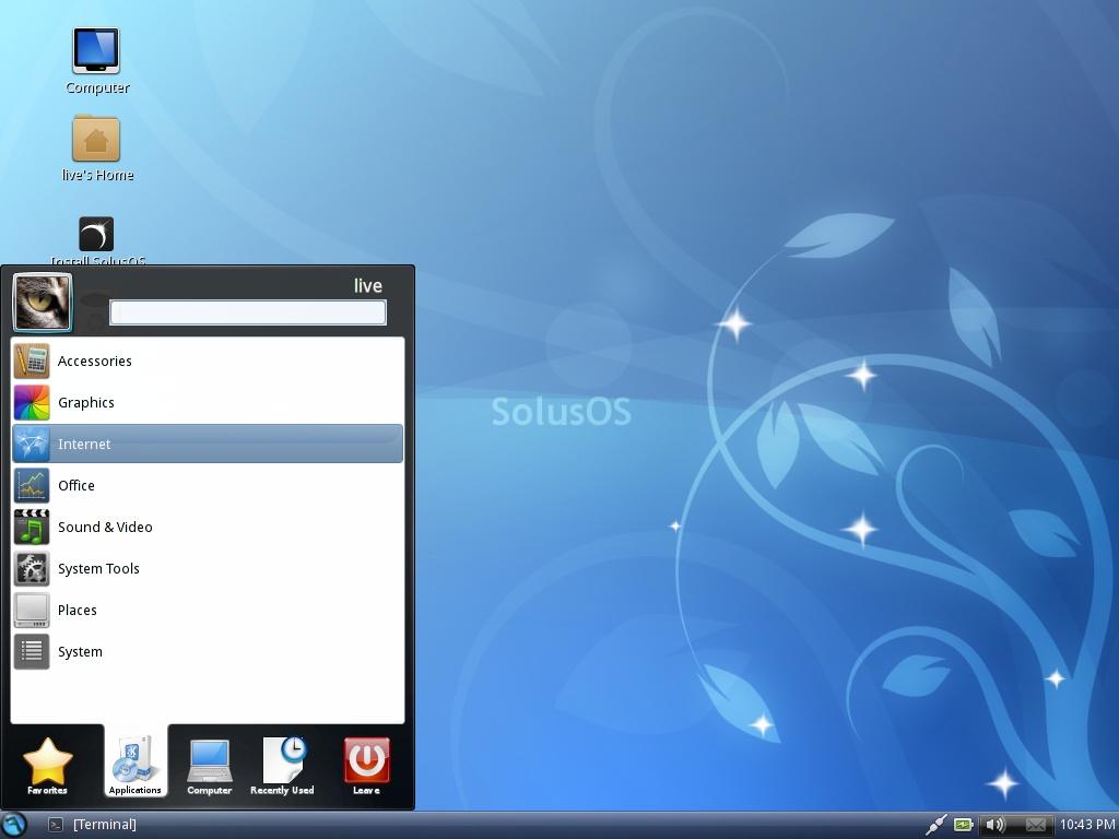 ดาวน์โหลดฟรี Solus เพื่อ Linux ::: ลินุกซ์