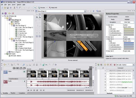 Sony DVD Architect 5