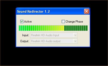 Sound Redirector