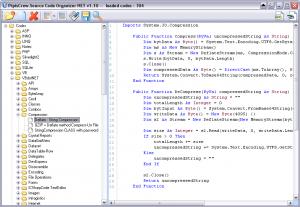 SourceCode Organizer .NET