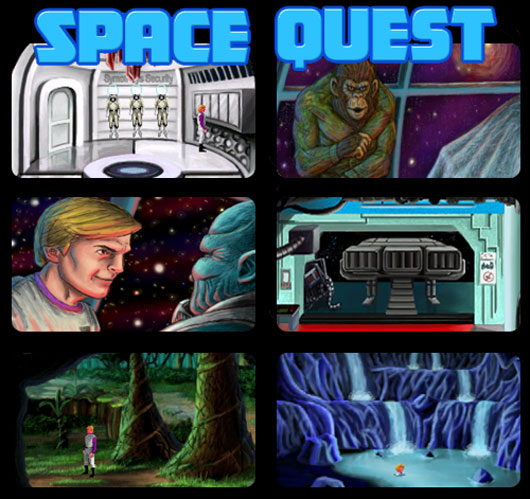 Space Quest II Vohaul's Revenge Remake