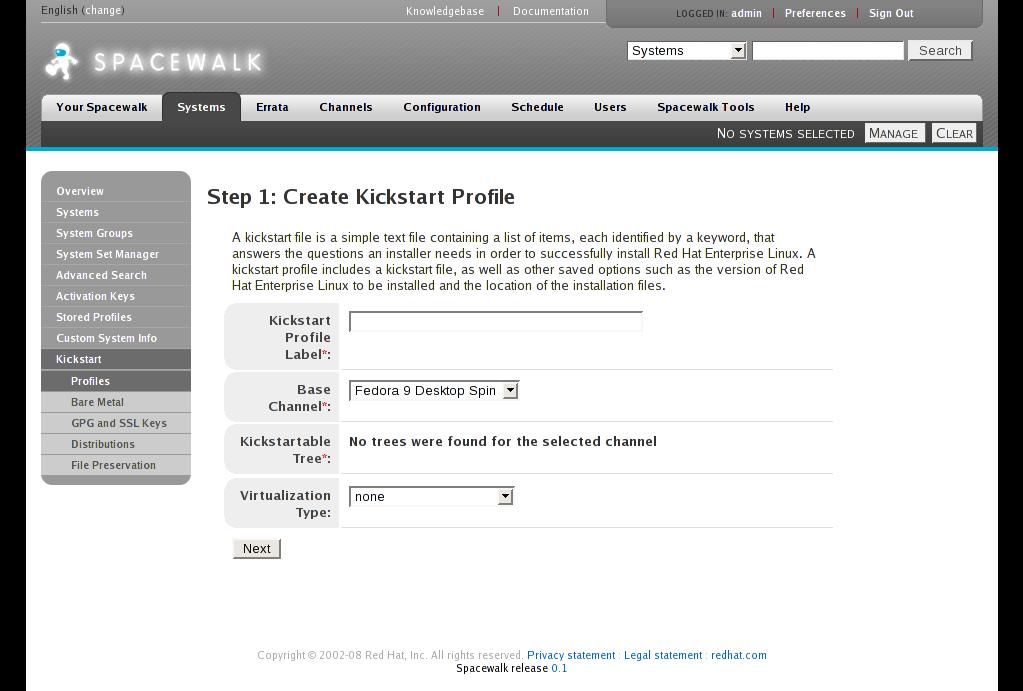 Miễn phí tải về Spacewalk Cho Linux ::: Phần mềm