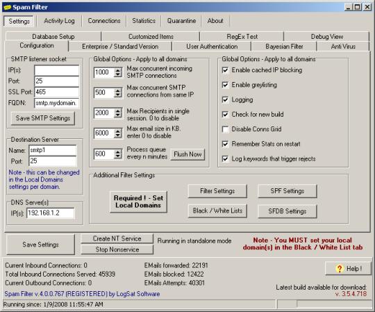 Spam Filter ISP