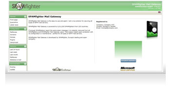 SPAMfighter Mail Gateway