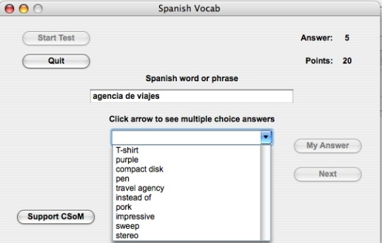 Spanish Vocab
