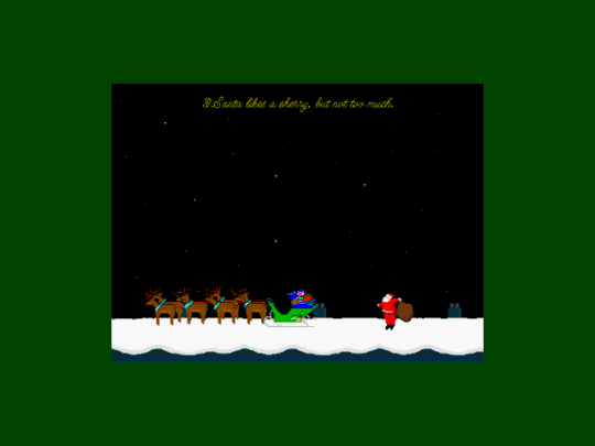 Spare A Thought For Santa