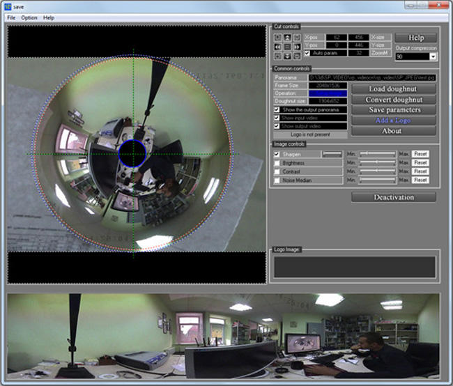 Spherical Panorama 360 Still Photo Publisher