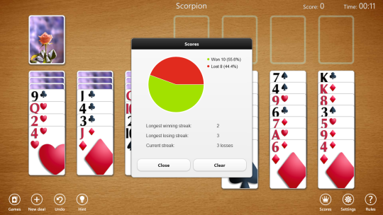 Spider Solitaire Collection Free (Windows 8)