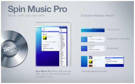 Spin Music Pro