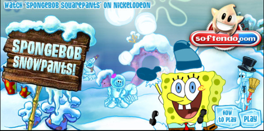 Spongebob Snow Pants