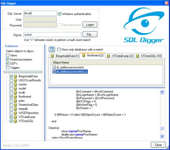 SQL Digger