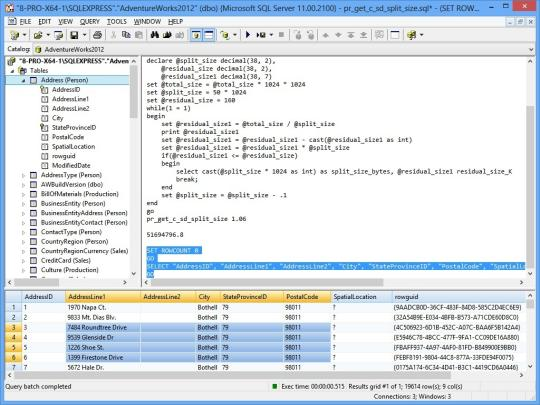 SQL Query Tool (Using ADO) x64 Edition