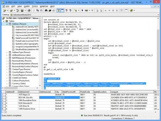 SQL Query Tool (Using ODBC)