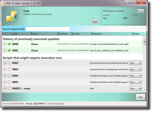 SQL Scriptor