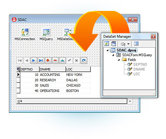 SQL Server Data Access Components Unicode for Delphi, C++Builder, and RAD Studio 2007