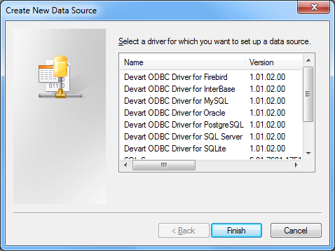 SQL Server ODBC driver (32/64 bit)