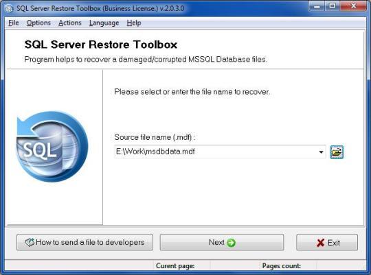 SQL Server Restore Toolbox