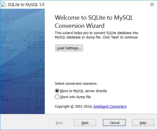 SQLite-to-MySQL