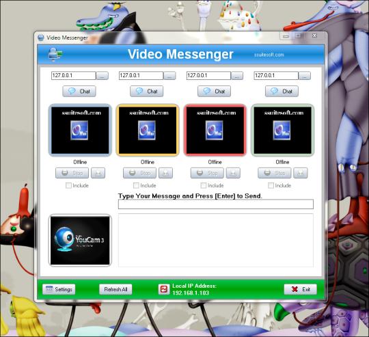 SSuite IM Video Chat