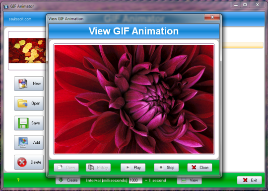 SSuite Office - Gif Animator