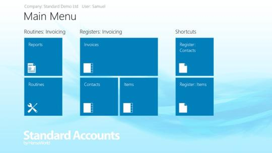 Standard Accounts for Windows 8