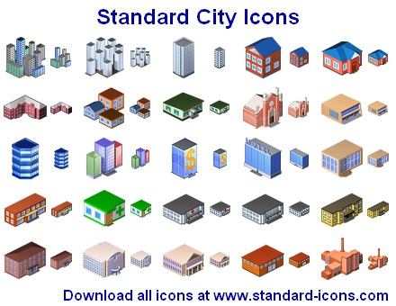 Standard City Icons