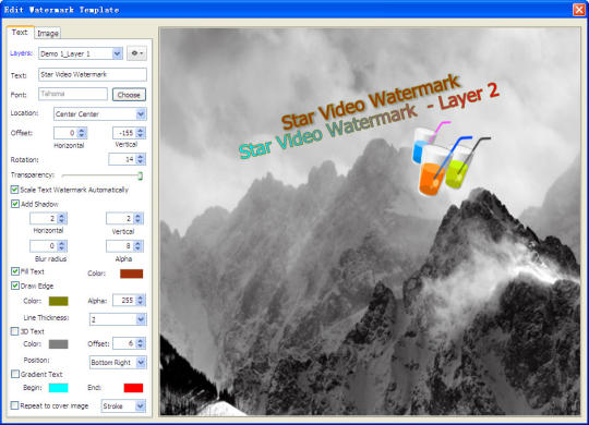 Star Video Watermark