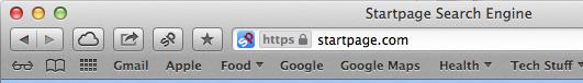 StartPage HTTPS Search for Safari