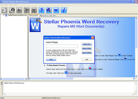 Stellar Phoenix Word Recovery Software