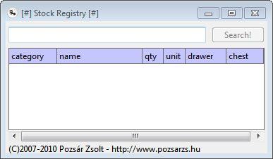 Stock Registry