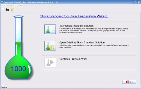 Stock Standard Preparation Calculator