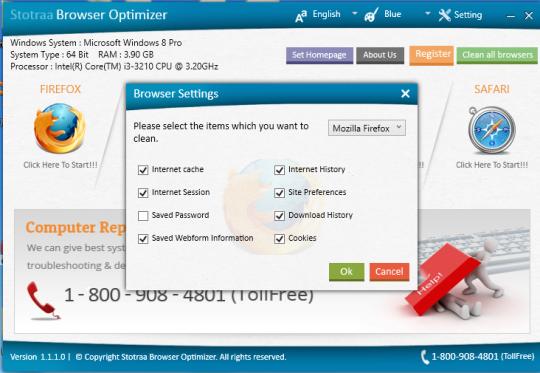 Stotraa Browser Optimizer