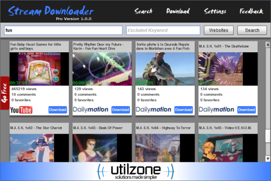 Stream Downloader