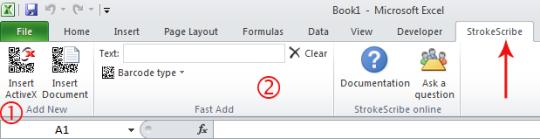 StrokeScribe Office Add-in