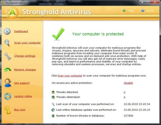 Stronghold Antivirus