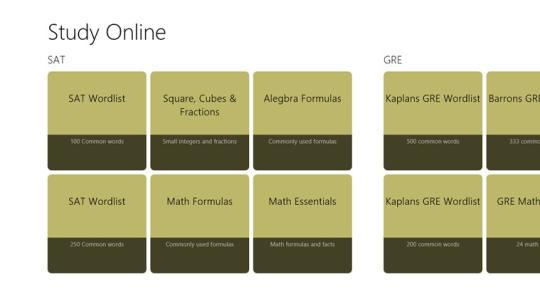 Study Online for Windows 8