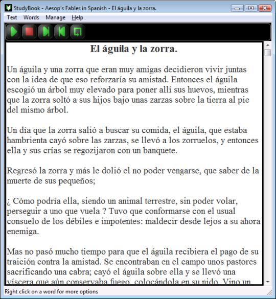 StudyBook - Spanish - SAE01