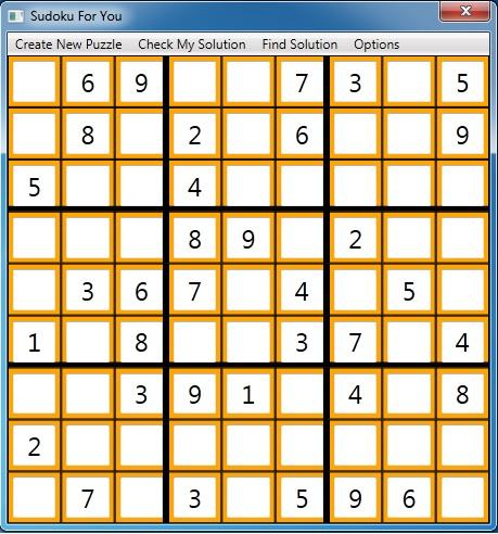 Sudoku For You
