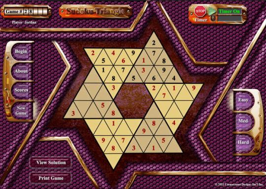 Sudoku Triangle